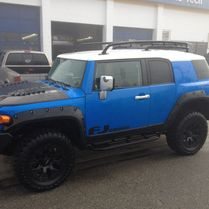 Blue FJ Cruiser